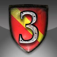 Portada oficial de Stronghold 3: The Campaigns para iPhone