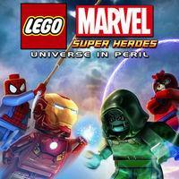 Portada oficial de LEGO Marvel Super Heroes: Universo en Peligro para iPhone