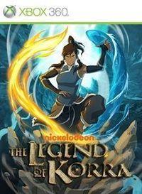 Portada oficial de The Legend of Korra XBLA para Xbox 360