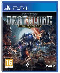 Portada oficial de Space Hulk: Deathwing - Enhanced Edition para PS4