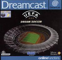 Portada oficial de Uefa Dream Soccer para Dreamcast