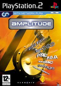 Portada oficial de Amplitud para PS2