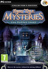 Portada oficial de Fairy Tale Mysteries: The Puppet Thief para PC