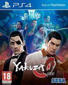 Portada oficial de de Yakuza 0 para PS4
