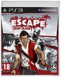 Portada oficial de Escape Dead Island para PS3