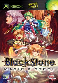 Portada oficial de BlackStone: Magic and Steel para Xbox