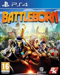 Portada oficial de Battleborn para PS4