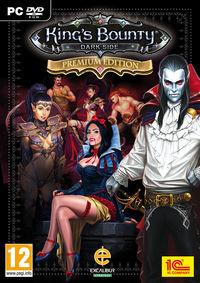 Portada oficial de King's Bounty: Dark Side para PC