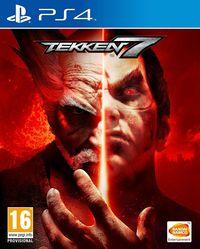 Portada oficial de Tekken 7 para PS4