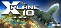 Portada oficial de X-Plane 10 Global para PC