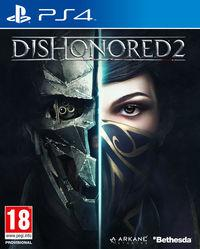 Portada oficial de Dishonored 2 para PS4