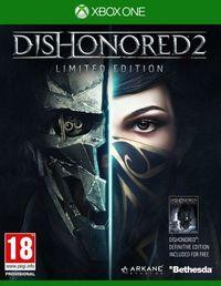 Portada oficial de Dishonored 2 para Xbox One