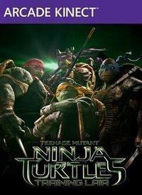 Portada oficial de Teenage Mutant Ninja Turtles: Training Lair XBLA para Xbox 360