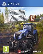 Portada oficial de de Farming Simulator 15 para PS4