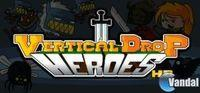 Portada oficial de Vertical Drop Heroes HD para PC