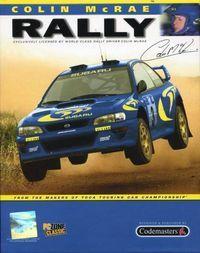 Portada oficial de Colin McRae Rally para PC