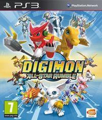 Portada oficial de Digimon All-Star Rumble para PS3