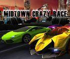 Portada oficial de de Midtown Crazy Race eShop para Wii U