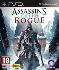 Portada oficial de Assassin's Creed Rogue para PS3