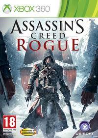 Portada oficial de Assassin's Creed Rogue para Xbox 360