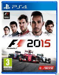 Portada oficial de F1 2015 para PS4