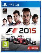 Portada oficial de de F1 2015 para PS4