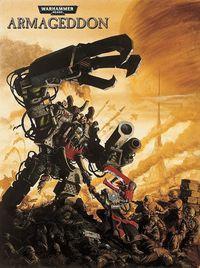 Portada oficial de Warhammer 40.000: Armageddon para PC