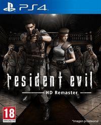Portada oficial de Resident Evil HD Remaster para PS4