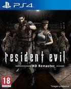 Portada oficial de de Resident Evil HD Remaster para PS4