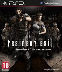 Portada oficial de Resident Evil HD Remaster para PS3