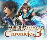 Portada oficial de Samurai Warriors Chronicles 3 eShop para Nintendo 3DS