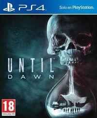 Portada oficial de Until Dawn para PS4