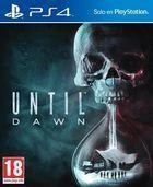 Portada oficial de de Until Dawn para PS4