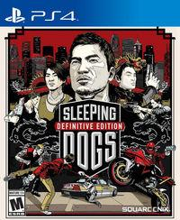 Portada oficial de Sleeping Dogs Definitive Edition para PS4
