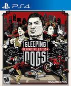 Portada oficial de de Sleeping Dogs Definitive Edition para PS4