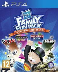 Portada oficial de Hasbro Family Fun Pack para PS4