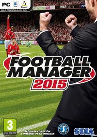 Portada oficial de Football Manager 2015 para PC