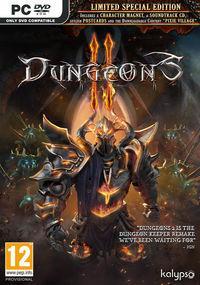 Portada oficial de Dungeons 2 para PC