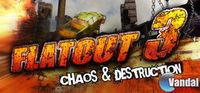 Portada oficial de Flatout 3: Chaos & Destruction para PC