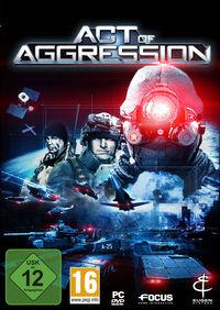 Portada oficial de Act of Aggression para PC