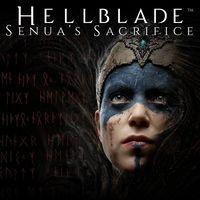 Portada oficial de Hellblade: Senua's Sacrifice para PS4