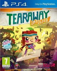 Portada oficial de Tearaway Unfolded para PS4