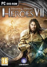 Portada oficial de Might & Magic Heroes VII para PC