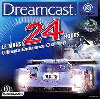 Portada oficial de Le Mans 24 Horas para Dreamcast