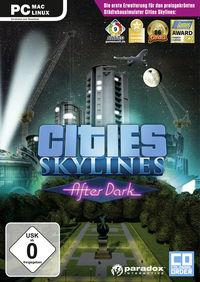 Portada oficial de Cities: Skylines para PC