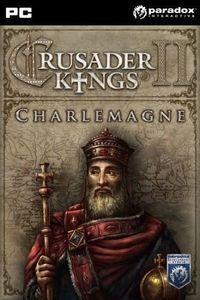Portada oficial de Crusader Kings II: Charlemagne para PC