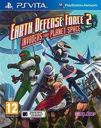 Portada oficial de Earth Defense Force 2: Invaders from Planet Space para PSVITA