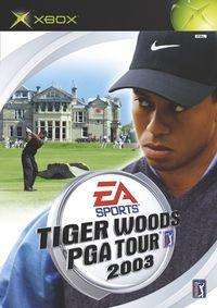 Portada oficial de Tiger Woods PGA TOUR 2003 para Xbox