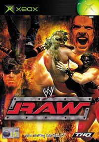 Portada oficial de WWE Raw para Xbox