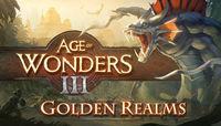 Portada oficial de Age of Wonders III: Golden Realms para PC